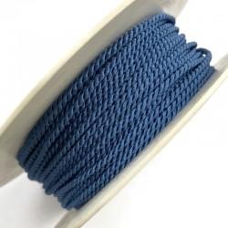 Sznurek ozdobny do sutaszu niebieski PEGA 2mm A4701 soutache