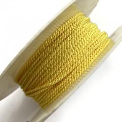 Sznurek ozdobny do sutaszu żółty PEGA 2mm A4201 soutache