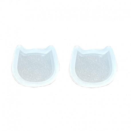 Forma do żywicy forma silikonowa do odlewów 9x10x5mm kotek