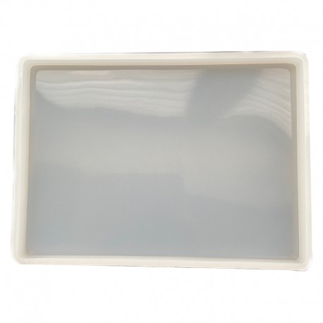 Forma do żywicy forma silikonowa do odlewów 205x155x12mm podkładka
