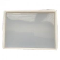 Forma do żywicy forma silikonowa do odlewów 185x135x12mm podkładka