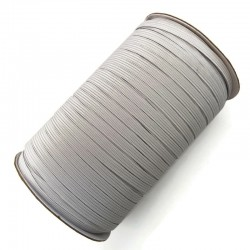 Gumka elastyczna płaska biała 6mm - opakowanie 10 metrów
