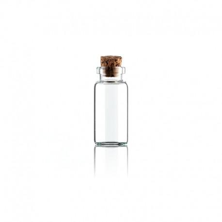 Buteleczka szklana z koreczkiem 40x18mm