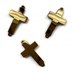 Łącznik Krzyżyk 25x14x1mm stal nierdzewna