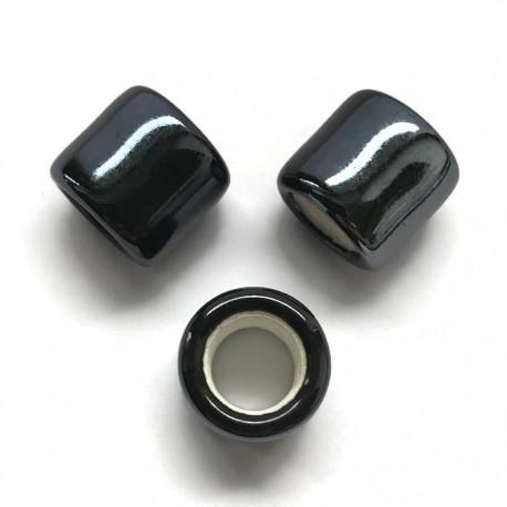 Przekładka ceramiczna walec 17x15mm czarny