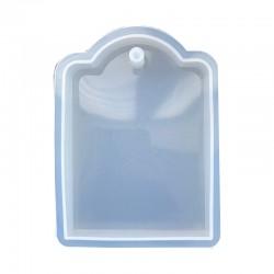 Forma do żywicy forma silikonowa do odlewów 8x5,7cm zawieszka