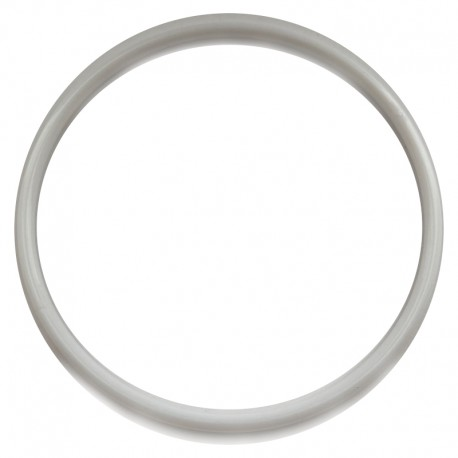 Biała plastikowa Obręcz do łapacza snów koło 14,3 cm