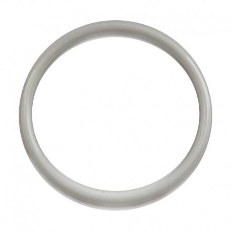 Biała plastikowa Obręcz do łapacza snów koło 10 cm