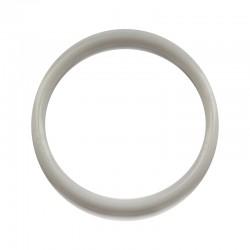 Biała plastikowa Obręcz do łapacza snów koło 7,4 cm