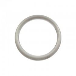 Biała plastikowa Obręcz do łapacza snów koło 4,9 cm