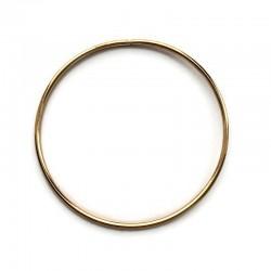 Złota Metalowa Obręcz do łapacza snów koło 15cm
