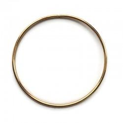 Złota Metalowa Obręcz do łapacza snów koło 20cm