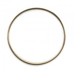 Złota Metalowa Obręcz do łapacza snów koło 25cm