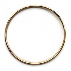 Złota Metalowa Obręcz do łapacza snów koło 35cm