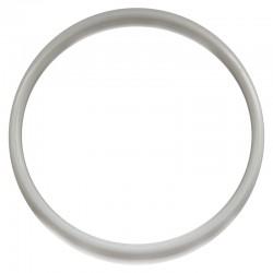 Biała plastikowa Obręcz do łapacza snów koło 25 cm