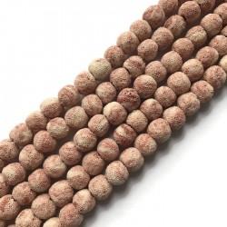 Lawa różowa kulka 10mm sznurek