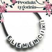 🥰PRODUKT TYGODNIA🥰 Dzięki nim możesz spersonalizować każde rękodzieło. Możesz wpleść, przykleić lub przyszyć drobne kosteczki z literkami. 😁 Kto nie chciałby dostać prezentu zrobionego pod indywidualne zamówienie?🧐  Co byście wybrali imię, a może wyznanie?   👉https://bit.ly/3DiDHNe  Udanego i słonecznego dnia!😘  #elemenciki #elementydobiżuterii #produkttygodnia #literki